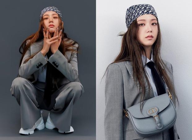 """2 """"nàng thơ Dior"""" đụng độ: Lần đầu thấy Suzy ra dáng tổng tài đến vậy, Jisoo chất nhưng lại không ấn tượng bằng - Ảnh 5."""