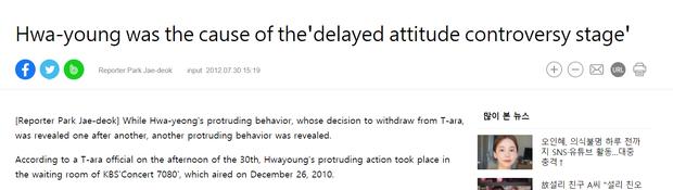 Jiyeon (T-ARA) từng bị mắng vì thái độ lồi lõm khi biểu diễn, nhiều năm sau mới vỡ lẽ Hwayoung chính là thủ phạm gây chiến - Ảnh 9.