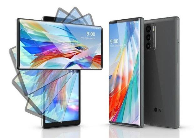 LG ra mắt điện thoại màn hình xoay, có thể sử dụng như Gimbal - Ảnh 1.