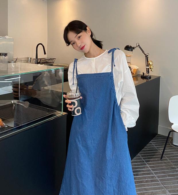Áo blouse trơn màu đúng là chân ái của nàng công sở, có đến 10 cách diện sang xịn hết cỡ - Ảnh 10.