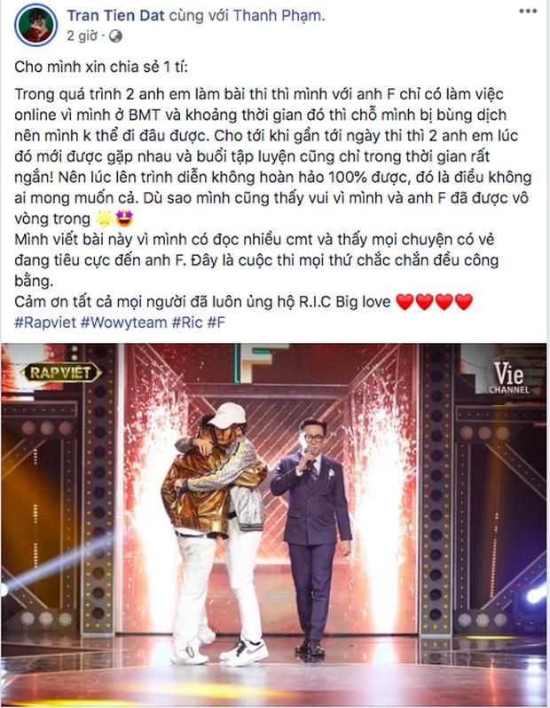 HLV Wowy kêu gọi cộng đồng mạng dừng bắt nạt học trò, đáp trả ý kiến anh phản ứng gay gắt với giám khảo Rap Việt - Ảnh 10.