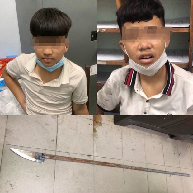 Nổ súng truy bắt nhóm thiếu niên cầm dao phóng lợn đi hỗn chiến, chống trả lại công an - Ảnh 1.