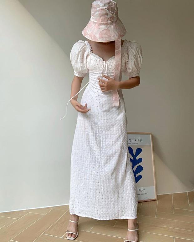Thu về diện váy tay bồng là chuẩn nhất, nàng nào mặc lên cũng xinh như nàng thơ  - Ảnh 3.