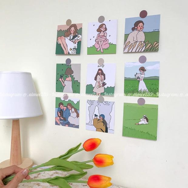 Chỉ 49k mà khiến phòng ốc nghệ nghệ như Hàn Quốc, thẻ tranh treo tường chính là món decor hội nghiện nhà phải sắm  - Ảnh 13.