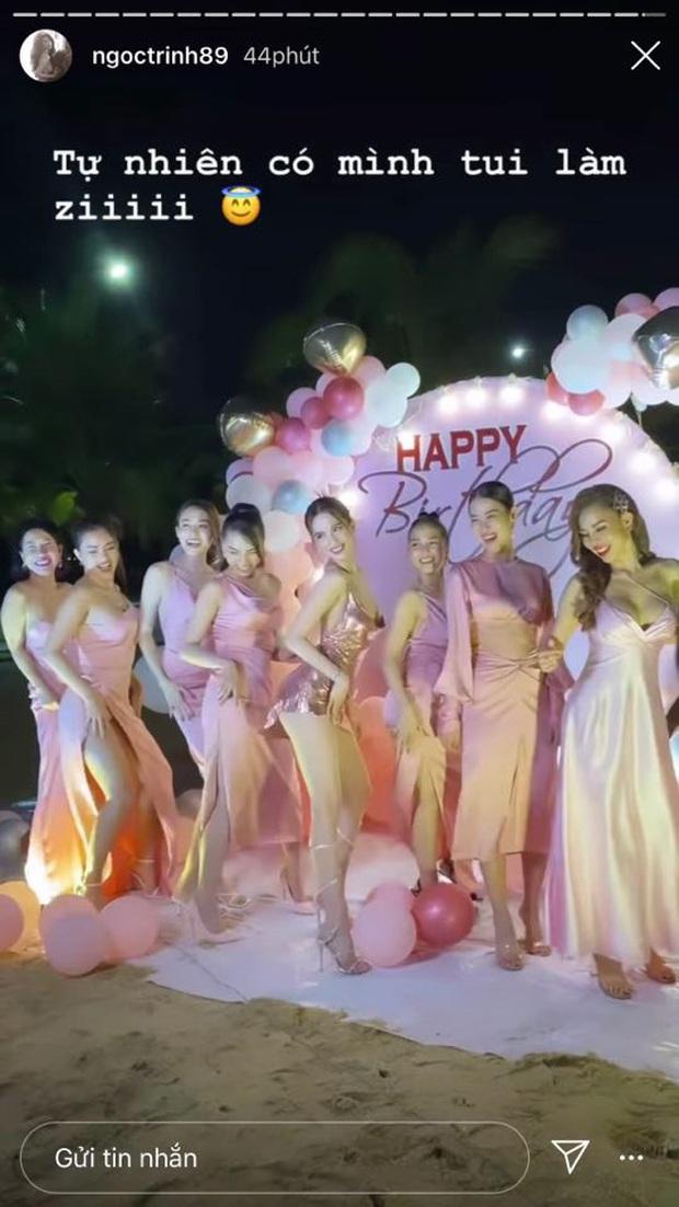 Ngọc Trinh mở tiệc sinh nhật sớm: Cả dàn bạn sexy đến dự, thót tim màn nhảy 5s khiến vòng 1 chực chờ nhảy ra ngoài - Ảnh 3.