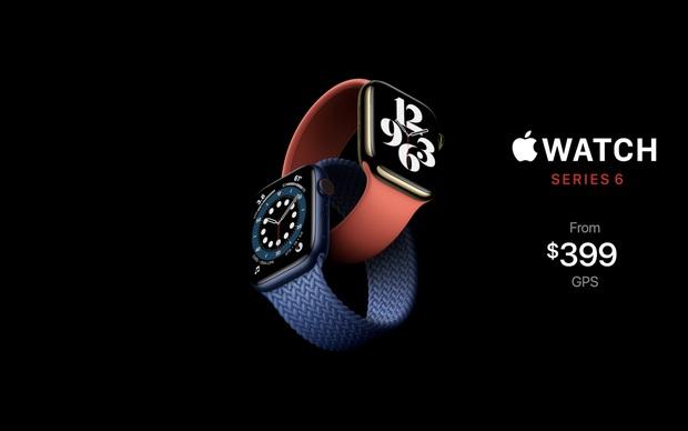 Apple Watch Series 6 gây ấn tượng với 2 màu mới xanh navy và đỏ, giá bán từ 399 USD - Ảnh 7.
