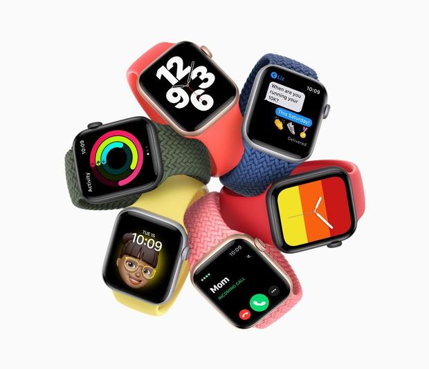 Apple Watch Series 6 gây ấn tượng với 2 màu mới xanh navy và đỏ, giá bán từ 399 USD - Ảnh 9.