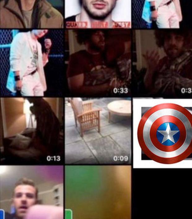 Captain America Chris Evans giả ngơ khi được hỏi về sự cố lộ ảnh nhạy cảm trên sóng truyền hình - Ảnh 5.