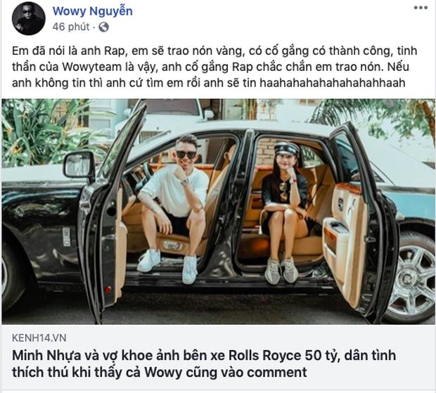 Wowy tiết lộ thí sinh đi cửa sau để giật nón vàng ở Rap Việt: Thì ra là đại gia đình đám đi xe 50 tỷ Minh Nhựa? - Ảnh 3.