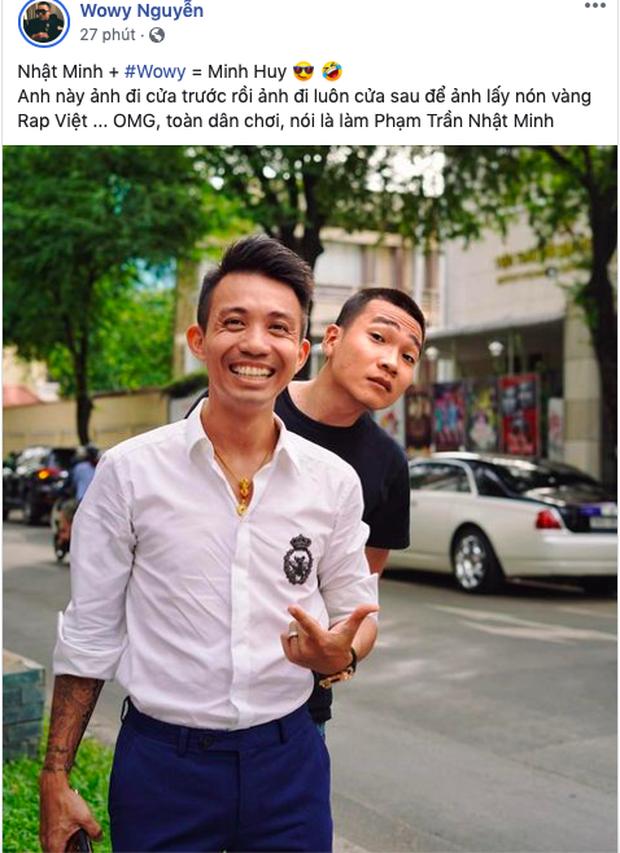 Wowy tiết lộ thí sinh đi cửa sau để giật nón vàng ở Rap Việt: Thì ra là đại gia đình đám đi xe 50 tỷ Minh Nhựa? - Ảnh 2.