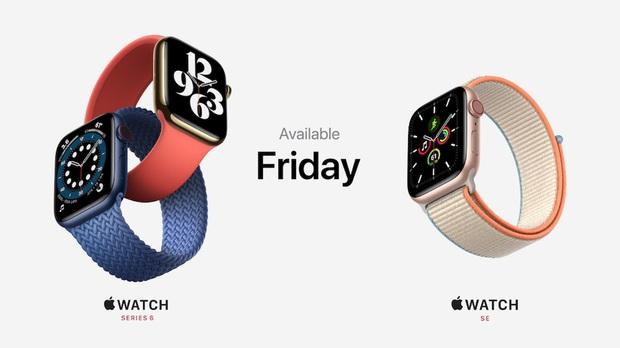 Apple Watch Series 6 gây ấn tượng với 2 màu mới xanh navy và đỏ, giá bán từ 399 USD - Ảnh 12.
