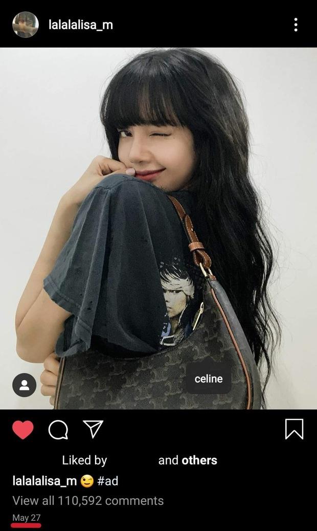 Lisa được đeo túi mới của Celine trước cả thế giới tận 9 tháng, đến Vogue Anh cũng phải chú ý - Ảnh 4.