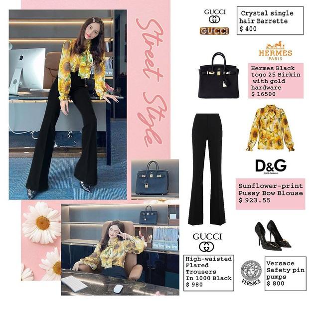 Bóc giá loạt outfit của Hương Giang từ khi hẹn hò Matt Liu: Cây nào cũng trăm triệu, đồng hồ gần tỷ đeo như cơm bữa - Ảnh 7.