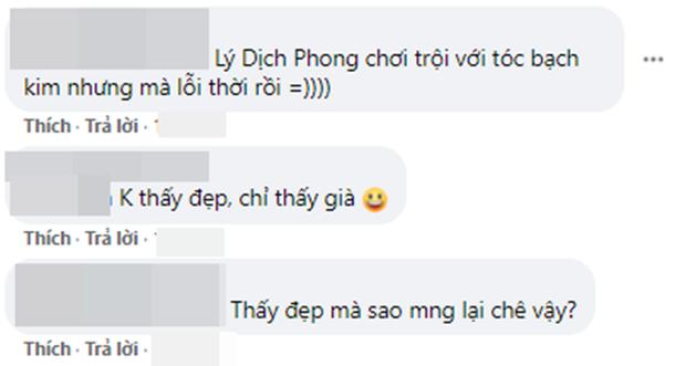 Lý Dịch Phong đu trend tóc bạch kim ở Kính Song Thành nhưng mốt hơi lỗi thời không? - Ảnh 6.