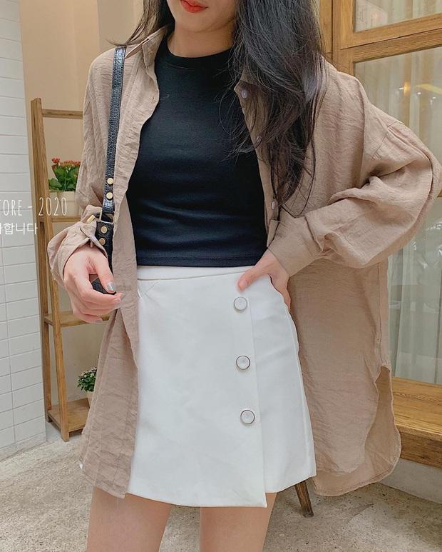 11 set đồ với chân váy ngắn siêu xinh từ các shop, bê nguyên xi công thức là bạn được khen mặc đẹp tức thì - Ảnh 21.