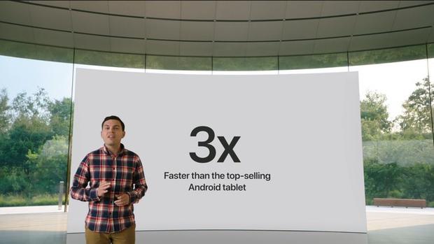 iPad 8 chính thức ra mắt với tuyên bố cà khịa cả thế giới của Apple: nhanh hơn tất cả các đối thủ khác - Ảnh 2.