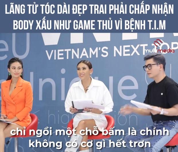 Giám khảo Nam Trung VN Next Top Model nhận chỉ trích sau phát ngôn cơ thể game thủ chỉ ngồi một chỗ bấm, không có cơ gì hết - Ảnh 1.