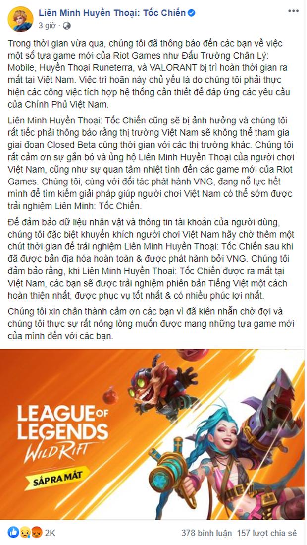 Chính thức! 100% VNG sẽ phát hành LMHT: Tốc Chiến tại Việt Nam, game thủ Việt khóc hận vì Closed Beta - Ảnh 3.