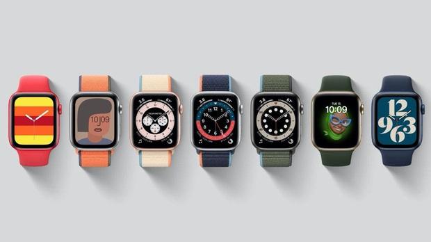 Apple Watch Series 6 gây ấn tượng với 2 màu mới xanh navy và đỏ, giá bán từ 399 USD - Ảnh 4.