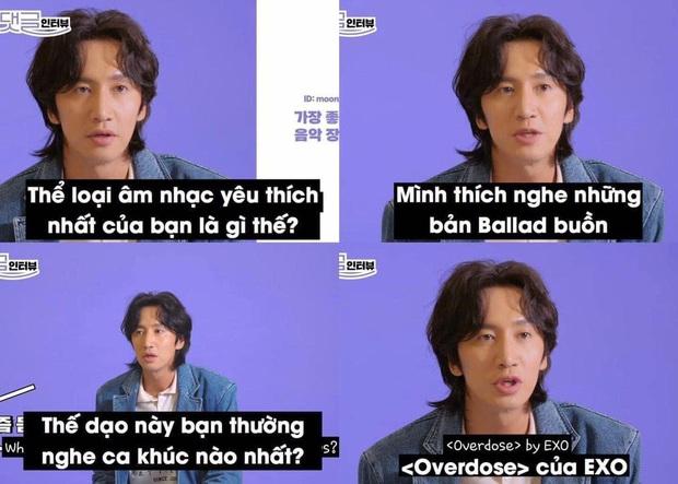 Lee Kwang Soo khiến fan phì cười khi nói: Thích nhạc ballad buồn nhưng dạo này hay nghe... Overdose của EXO - Ảnh 1.