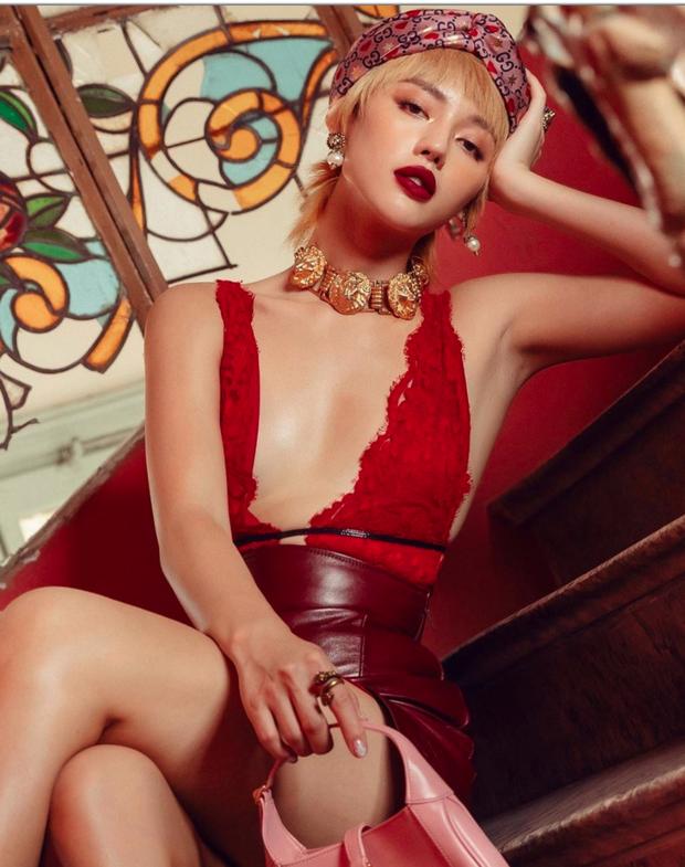 Netizen gọi Chi Pu bằng biệt danh khiếm nhã, Khánh Linh (The Face) bất ngờ vào thả tim - Ảnh 2.