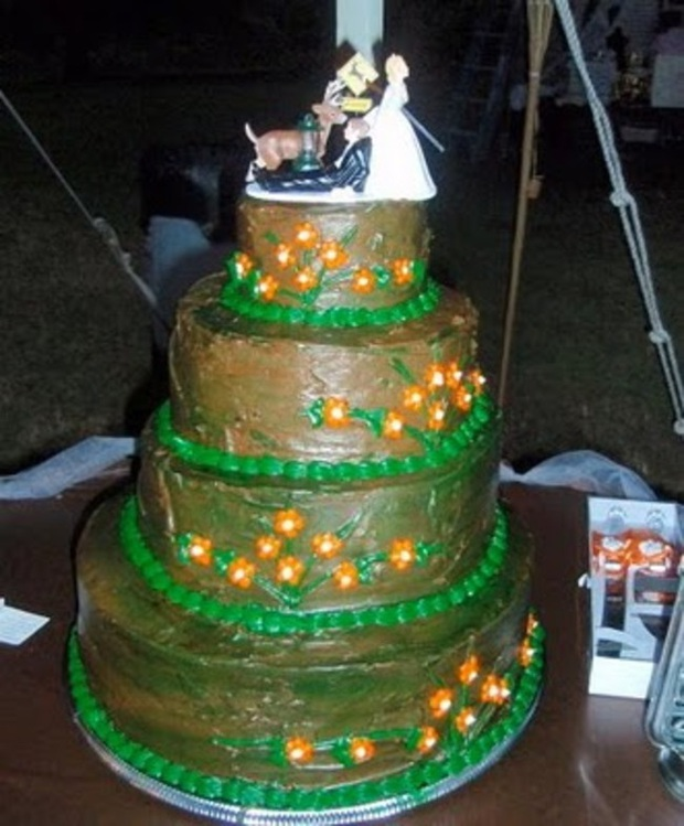 Những chiếc bánh cưới hắc ám khiến cô dâu, chú rể chán không buồn về chung một nhà nữa - Ảnh 6.