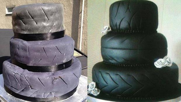 Những chiếc bánh cưới hắc ám khiến cô dâu, chú rể chán không buồn về chung một nhà nữa - Ảnh 8.