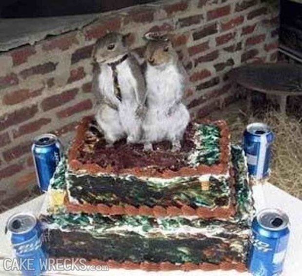 Những chiếc bánh cưới hắc ám khiến cô dâu, chú rể chán không buồn về chung một nhà nữa - Ảnh 15.