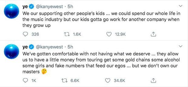 SỐC: Kanye West điên cuồng đăng clip đi tiểu lên cúp Grammy kèm 168 bài đăng khủng bố Twitter suốt 5 tiếng rạng sáng nay - Ảnh 5.