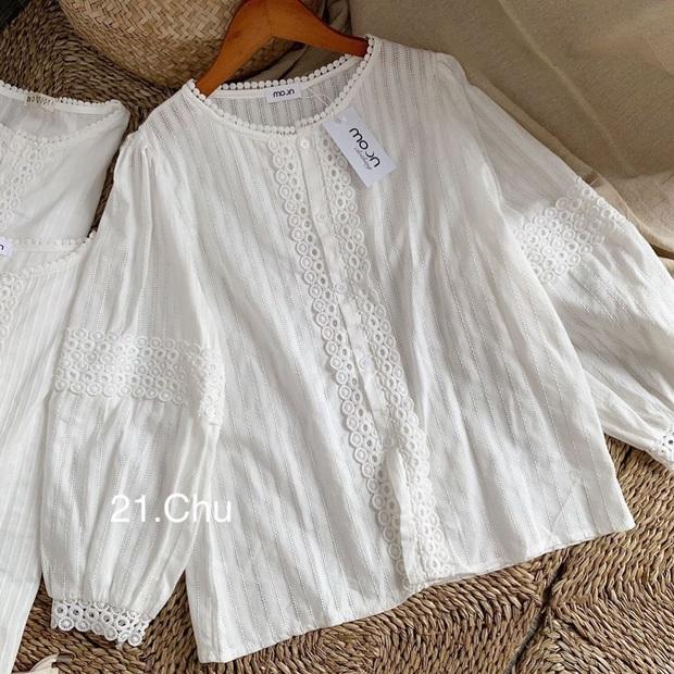 Mùa Thu đến là nhất định phải sắm áo blouse dài tay, nàng nào diện lên cũng xinh bá cháy - Ảnh 13.