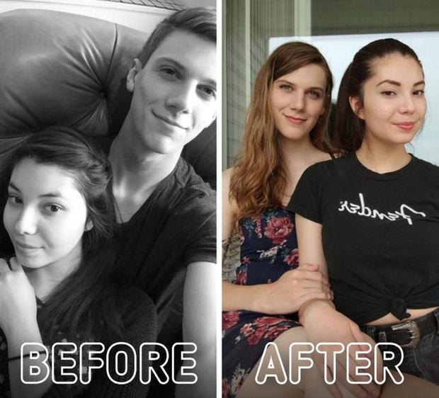 Loạt ảnh trước - sau của những ca phẫu thuật chuyển giới thành công mĩ mãn chứng tỏ khi được là chính mình bạn mới tỏa sáng rực rỡ nhất - Ảnh 16.