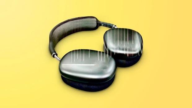 Tai nghe chống ồn mới của Apple lộ thiết kế xấu lạ - Ảnh 1.