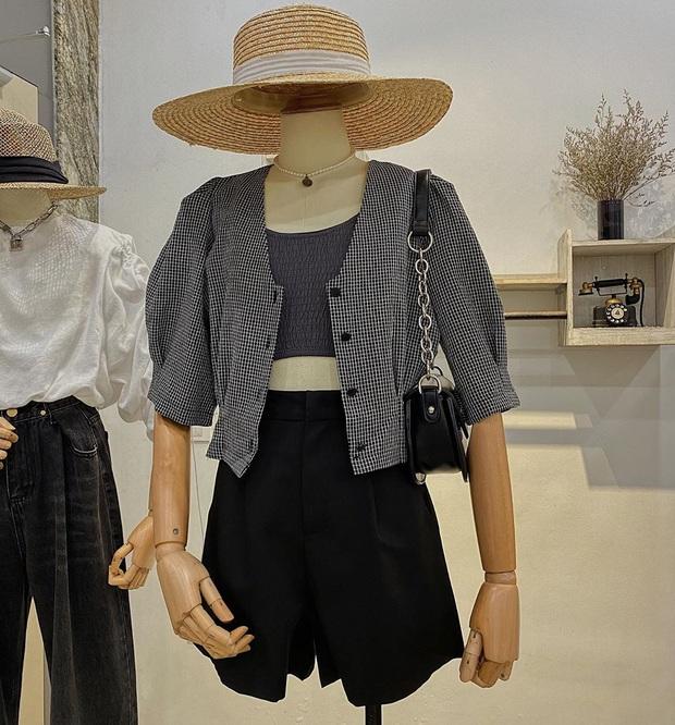 Để cải tổ style ăn mặc, bạn nên ngó nghiêng áo khoác cộc tay xinh xẻo ngay và luôn - Ảnh 16.