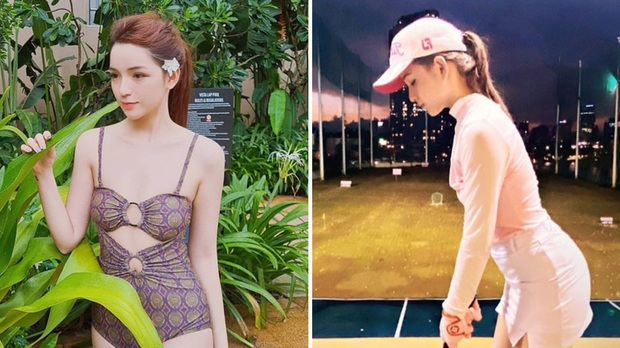 So ảnh gái xinh mặc bikini với khi lên đồ chơi golf: Chân dài, eo thon thì mặc hở kín gì cũng đẹp mê - Ảnh 23.