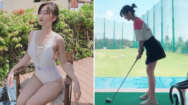 So ảnh gái xinh mặc bikini với khi lên đồ chơi golf: Chân dài, eo thon thì mặc hở kín gì cũng đẹp mê - Ảnh 29.