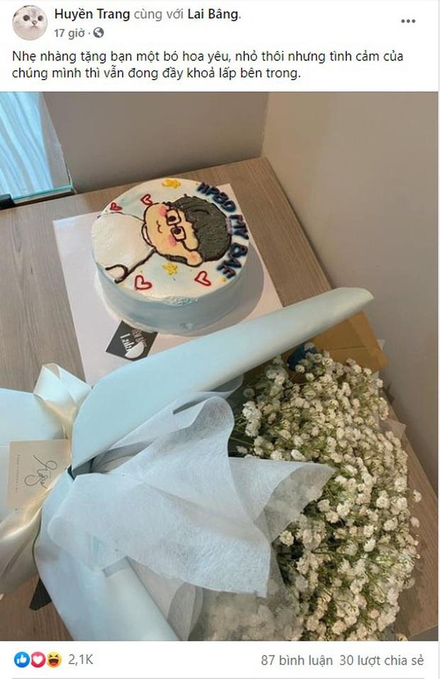 Chẳng chịu thua ADC và Kim Chung Phan, Huyền Trang (Six) cũng tổ chức sinh nhật cực ngọt cho Lai Bâng - Ảnh 2.