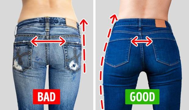 Chi tiết túi sau của quần jeans lại quyết định độ cong của vòng 3: Chiêu cơi nới dành cho nàng mông lép - Ảnh 2.