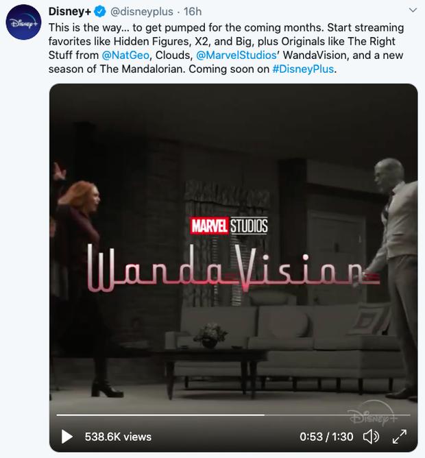 Cả thế giới dời lịch nhưng WandaVision vẫn chốt chiếu năm nay, fan Marvel mừng muốn rớt nước mắt á! - Ảnh 1.