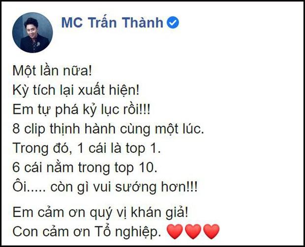 Từ phát ngôn của Trấn Thành, Minh Hằng trên show thực tế, top trending hiện có thực sự quan trọng? - Ảnh 1.