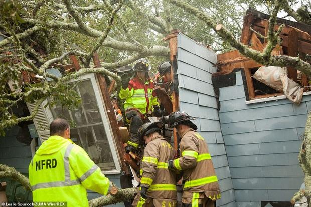 Bão Sally gây lụt lịch sử tại Mỹ, quật đổ cây cối, nhấn chìm đường phố trong biển nước - Ảnh 11.