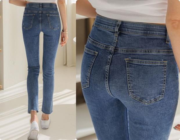 Chi tiết túi sau của quần jeans lại quyết định độ cong của vòng 3: Chiêu cơi nới dành cho nàng mông lép - Ảnh 4.