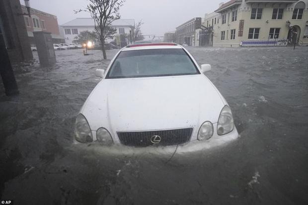 Bão Sally gây lụt lịch sử tại Mỹ, quật đổ cây cối, nhấn chìm đường phố trong biển nước - Ảnh 7.