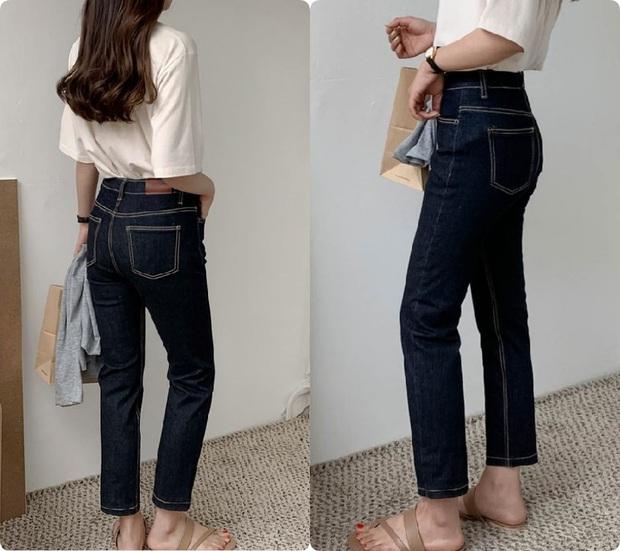 Chi tiết túi sau của quần jeans lại quyết định độ cong của vòng 3: Chiêu cơi nới dành cho nàng mông lép - Ảnh 7.