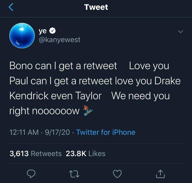 Đi tiểu lên cúp Grammy, ăn vạ các nghệ sĩ khác và khủng bố Twitter: Kanye West đang tự giết chết sự nghiệp âm nhạc của mình? - Ảnh 3.