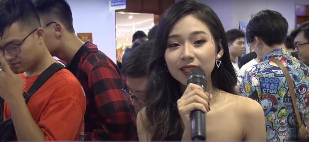 Gái xinh 2k3 trường Lê Quý Đôn là MC của giải đấu game có tiếng, reviewer trên kênh công nghệ 2 triệu subs - Ảnh 3.