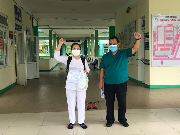 Bệnh nhân Covid-19 cuối cùng rời Bệnh viện Phổi Đà Nẵng - Ảnh 1.
