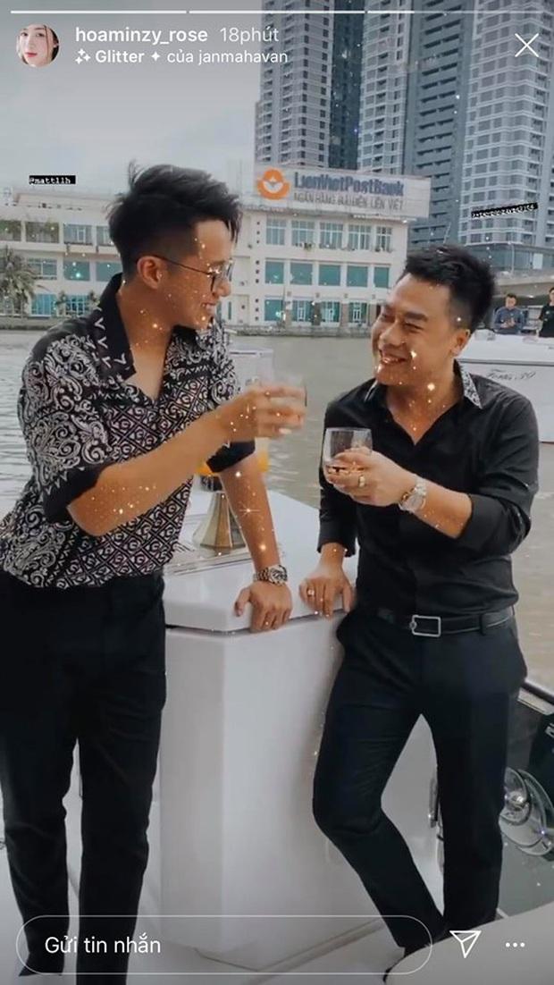Hương Giang nói là làm: Mở tiệc du thuyền đãi Hoa Dâm Bụt và hội bạn, Matt Liu và bạn trai đại gia Hoà Minzy chiếm spotlight - Ảnh 2.