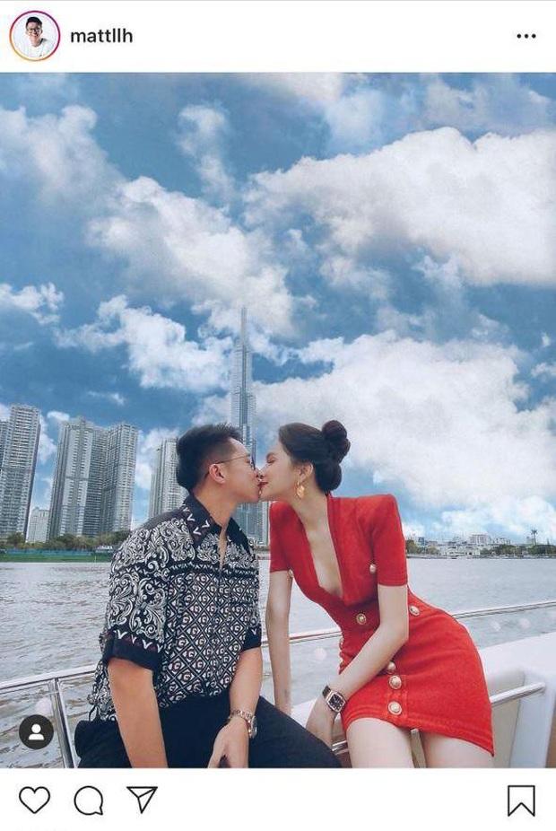 """Lần đầu Hương Giang - Matt Liu công khai khoe ảnh khoá môi, quản lý liền tiết lộ hậu trường """"bội thực"""" đường - Ảnh 2."""