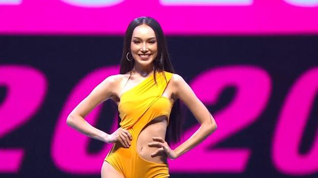 Vì áo tắm lởm của ban tổ chức, hàng loạt thí sinh Miss Grand Thailand 2020 lộ ngực trên sóng livestream - Ảnh 9.