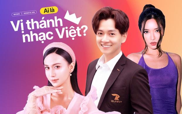 Bích Phương mất trí nhớ quên luôn hit của mình, Ngô Kiến Huy dọa từ mặt fan trong công cuộc truy lùng Vị thánh nhạc Việt - Ảnh 1.